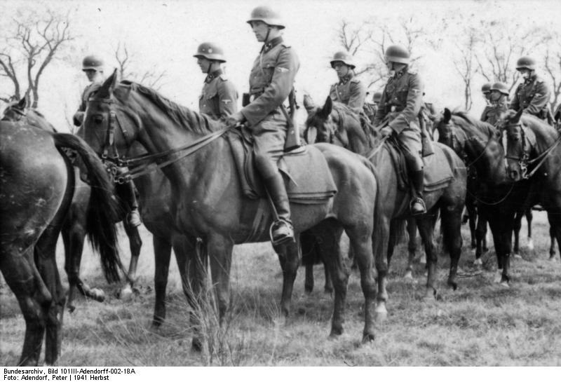 German cavalry WW2