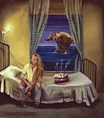 Tina Mion painting
